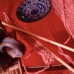 December Views: Knitting & Tea