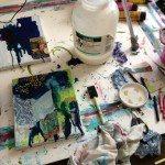 Melting Crayons!! Mixed Media!! Oh My!