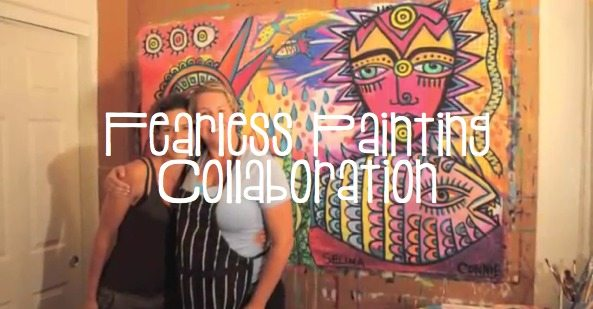 FEARLESS Painting Collaboration
