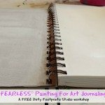 FEARLESS Painting For Art Journaling