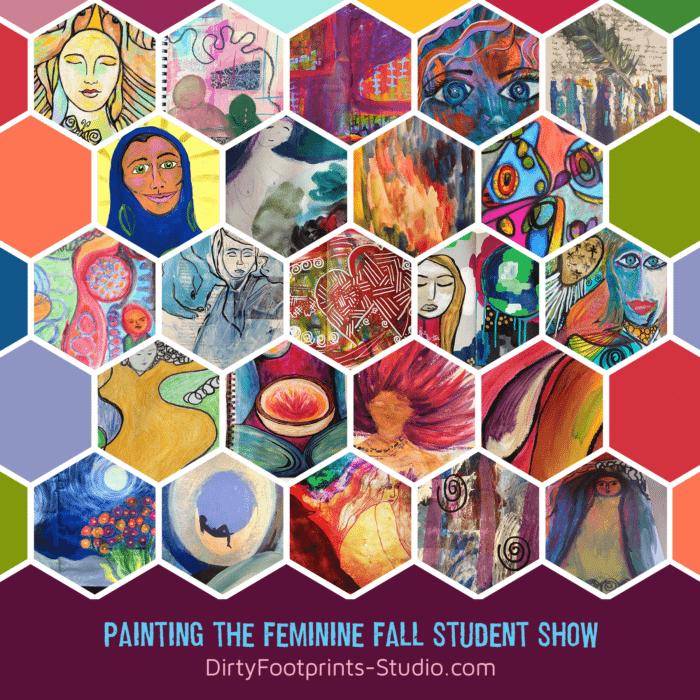 painting the feminine art workshop