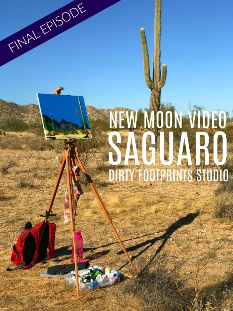 New Moon Saguaro