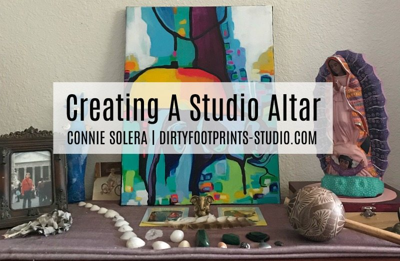 Creating A Studio Altar 1