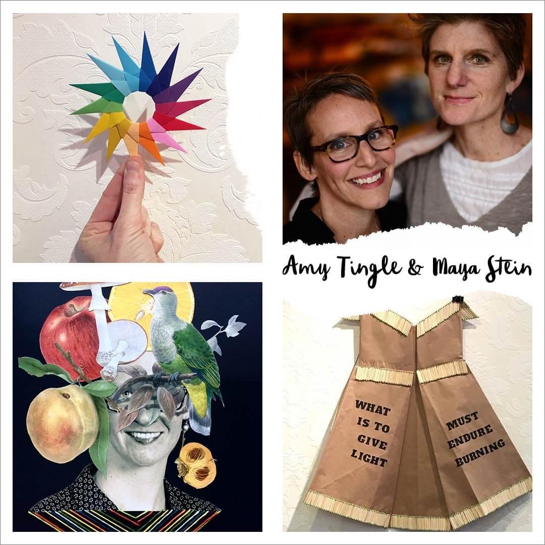 Maya Stein & Amy Tingle