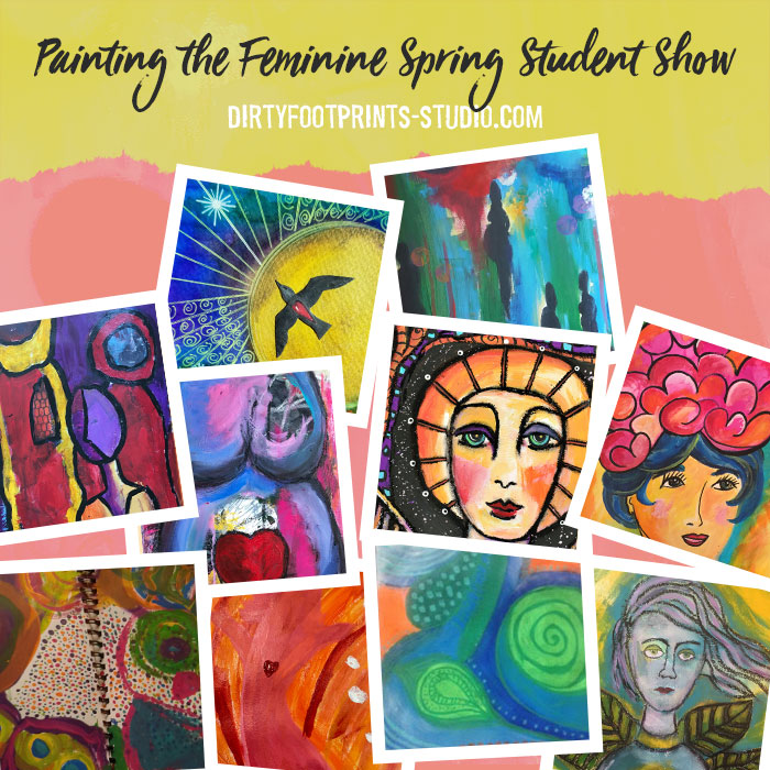 Painting The Feminine Spring 2018 Student Show