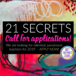 21 SECRETS Call For Applications