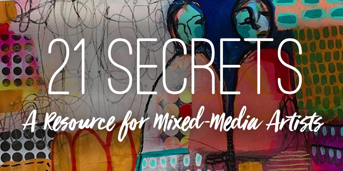 21 Secrets Mixed-Media Resource-Graphic