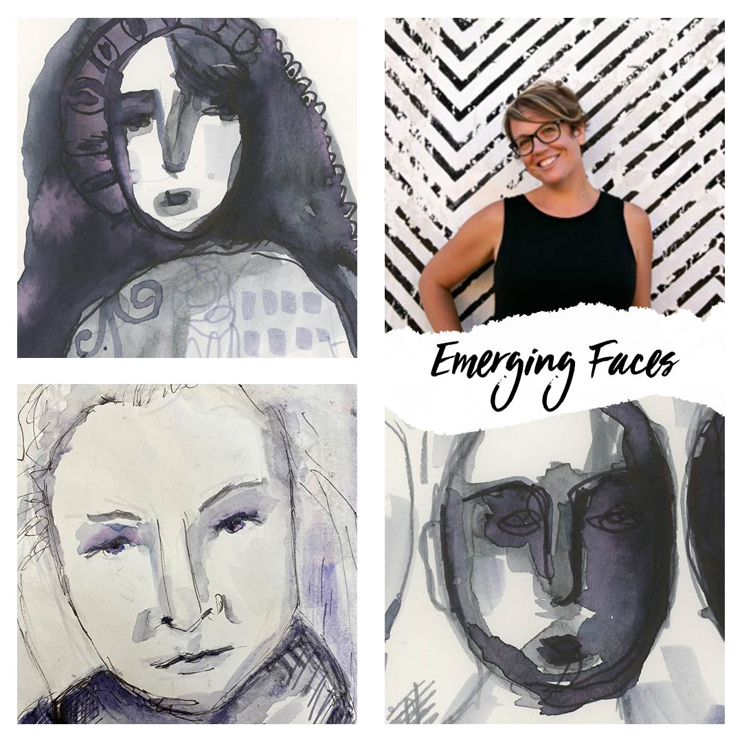 Emerging--Faces-artist-block